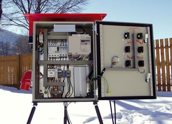 панель управления VLEKY LPVE 3-120