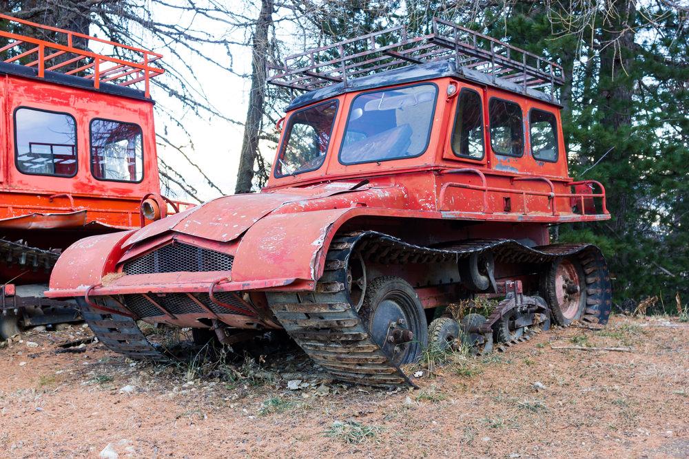Для нужд горнолыжного курорта в Айдахо восстановят старые ратраки