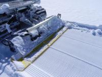 снегоуплотнительная работа